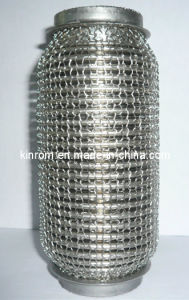 304 Ss Exhaust Flexible Pipe with Mesh Covering