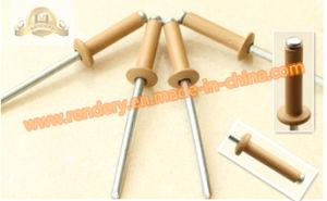 Screw/Large Flange Head Aluminum Blind Rivets Brown pictures & photos