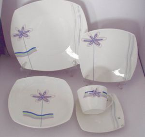 20pc Porcelain Dinnerware Set