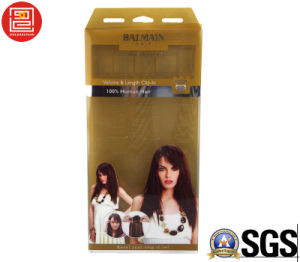 Hair Packaging Boxes, Packaging Box for Hair, Offset UV Printing Clear Plastic Hair Packaging Boxes pictures & photos