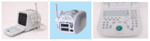 Double Connector Digital Portable Ultrasound Machine CE Approved Ysd1206 pictures & photos