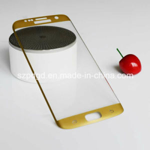 for Samsung S7 Edge 3D 9h Curved Edge Tempered Glass Screen Toughened Glass pictures & photos