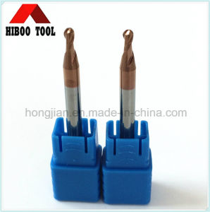 2flutes Ball Nose Carbide Tools with Tisin Coating pictures & photos