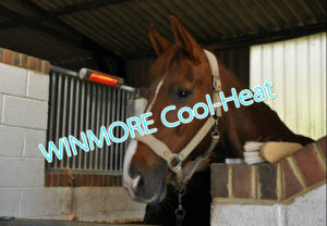 Animal Infrared Heater Low Glare Infrared Actually Benefits My Horses with Remote Control pictures & photos