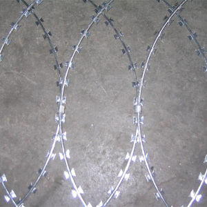 3.5 mm Galvanized Razor Barbed Wire pictures & photos