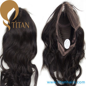 Natural Black Virgin Human Hair Closure Mono Top Closure pictures & photos
