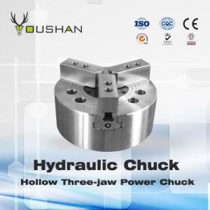 Hollow Three-Jaw Power Chuck