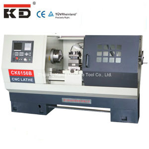 Flat Bed Servo Motor Metal CNC Lathe Machine Ck6156b pictures & photos