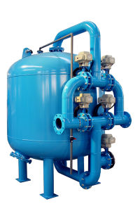 Large Flow Rate Sand Filter Machine for Cooling Tower pictures & photos