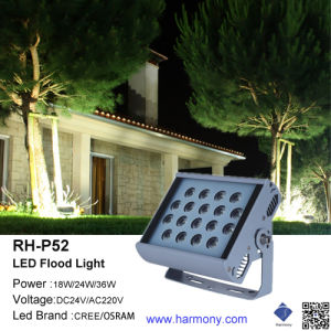 High Lumen 18W/24W/36W Outdoor Indoor LED Floodlight pictures & photos