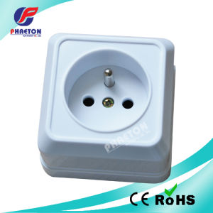 European Style Surface Mounted Wall Power Socket pictures & photos