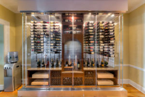 Glass Wine Cabinet with AS/NZS2208: 1996/ BS6206/En12150 Certificate pictures & photos