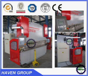 WC67Y-125X4000 E21 Hydraulic Press Brake, Hydraulic Steel Plate Bending Machine pictures & photos