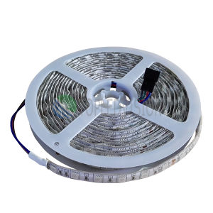 High Quality 30LEDs/M SMD5050 RGB LED Strip Rope Light with Ce, RoHS pictures & photos