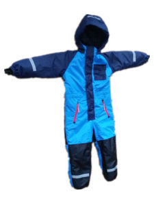 Blue Hooded Waterproof Sealant Jumpsuits pictures & photos