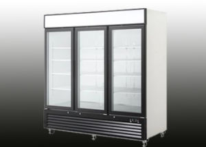 1500L Three Door Upright Beverage Refrigerator pictures & photos