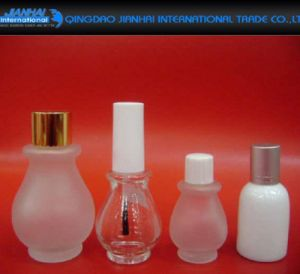 5ml Star Shape Cosmetic Glass Container for Nail Polish pictures & photos