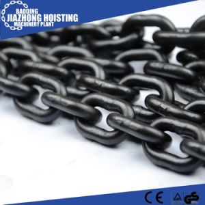 Factory Supply 7mm Iron Black Chain