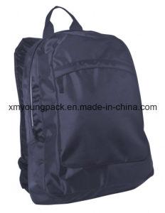 "Popular 420d Nylon Navy Blue Designer 17"" Laptop Backpack Bag pictures & photos"