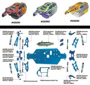 Hsp 30cc 1: 10 4WD RC Car Nitro Buggy pictures & photos