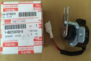 Truck Parts--Acceleratot Sensor for Isuzu Cxz51k/6wf1 (1-80250030-0) pictures & photos