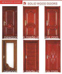 China Solid Wooden Interior Door, Fire Rated Wooden Door, Natural ...