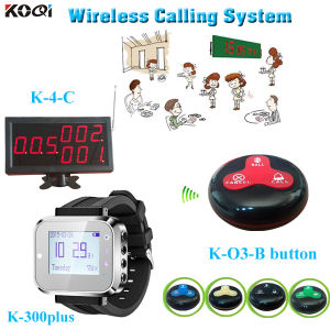 Wireless Communication System for Restaurant Waier Buzzer Call System pictures & photos