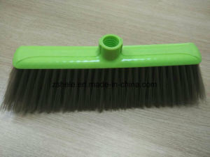 Cheaper Plastic Sweeping Broom with Bristle Brush (HL-B103) pictures & photos