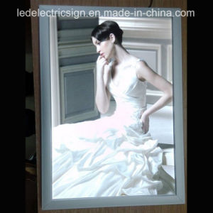 Outdoor Advertising Wall Super Slim LED Light Box Sign pictures & photos