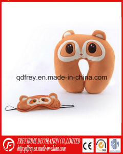 China Manufacture Cute Monkey Toy Neck Cushion Pillow pictures & photos