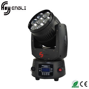 7*12W LED Moving Head Wash Light (HL-009BM) pictures & photos