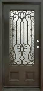 Flat Top Iron Single Front Door (UID-S048) pictures & photos