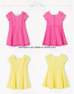 Fashion Girls Lovely Princess Dress with High Quality pictures & photos