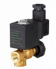 Miniature Steam Solenoid Valve with Manual Control pictures & photos