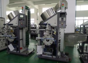 Glass Bottle Cap Hot Foil Stamping Machine (side printing)