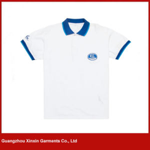 Custom Made Good Quality Cotton Golf Shirts for Men (P37) pictures & photos