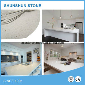 Artificial White Calacatta Stone Cheap Countertops for Home pictures & photos