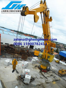 Immediate Availble of 100t10m Knuckle Boom Crane pictures & photos