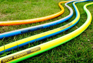 Fluorescent Green Garden Hose, Flexile in Low Temparature pictures & photos