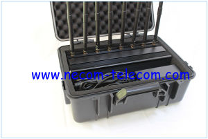 2015 Vehicle Mounted Type Cellular Phone Jammer, Video Signal Jammer, Portbable Mobile Phone Signal Alarm Jammer pictures & photos