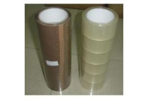 Adhesive BOPP Packing Tape with Brown Color