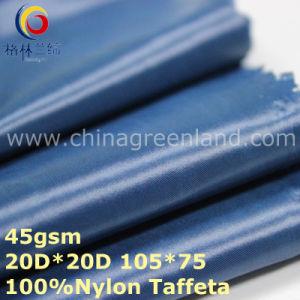 Waterproof Woven Nylon Taffeta Fabric for Sportswear (GLLML324) pictures & photos