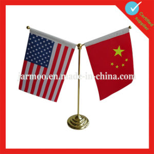 Hot Selling Small Mini Table Desktop Flag pictures & photos