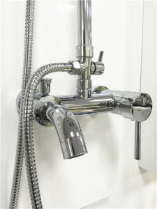 Solid Brass Sanitary Ware Round Bathroom Shower Mixer (1015) pictures & photos