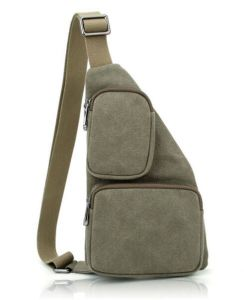 Augur Canvas Bags Chest Pack Messenger Bag Khaki/Chest Bag Sh-16051115 pictures & photos