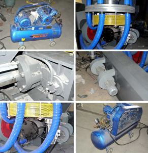 Rotary Head Film Blowing Machine Set/ Shrinkable Film Blowing Machine pictures & photos