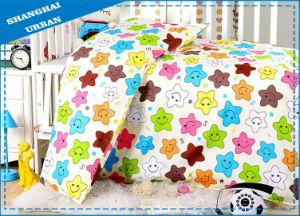 4 Pieces 100%Cotton Duvet Cover Baby Bedding Set pictures & photos