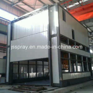 Movable Spraying Room with Track for Train or Bus pictures & photos
