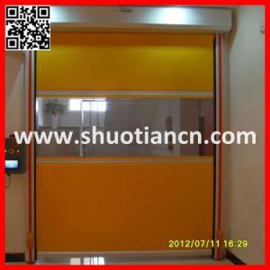 Iran Yellow High Speed Sheet Shutter Door (ST-001) pictures & photos
