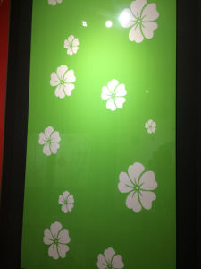 """Flower Pattern Acrylic MDF Board for Kitchen Cabinets (4""""X8"""") pictures & photos"""